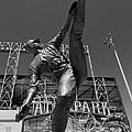 Statue Of Juan Marichal Outside Atandt Park San Francisco by Mountain Dreams