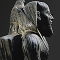 Statue Of Khafre Enthroned. 2520 Bc by Everett