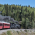 Steam Engine 488 At Osier On The Cumbres And Toltec Scenic Railroad by Fred Stearns