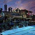 Steam Engine Nevada Northern by Gunter Nezhoda