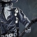 Stevie Ray Vaughan by Tom Carlton