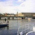 Stockholm City Harbor by Ted Pollard