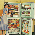 Stor-mor  1950s Uk Fridges Freezers by The Advertising Archives