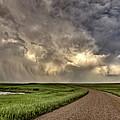 Storm Clouds Prairie Sky Saskatchewan by Mark Duffy
