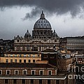 Storm Over St. Peter's  by Michael Paskvan