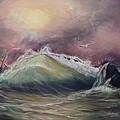 Stormy Sea by Elena Sokolova