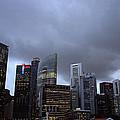 Stormy Singapore by Shaun Higson