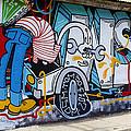 Street Art Valparaiso Chile 15 by Kurt Van Wagner