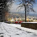 Street With Snow by Mats Silvan