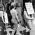 Strippers On Strike by Underwood Archives