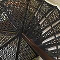 Sturgeon Point Lighthouse Spiral Staircase by LeeAnn McLaneGoetz McLaneGoetzStudioLLCcom
