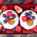 Summer Fruit Platter by Jane Rix