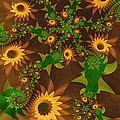 Summer's Last Sunflowers by Richard Kelly