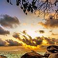 Sun Sand Sea And Rocks by Jijo George