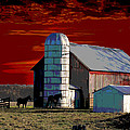 Sundown On The Farm by Jimi Bush