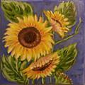 Sunflower Burst 1 by Mary McLoughlin