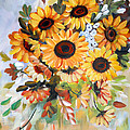 Sunflowers by Dorothy Maier