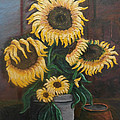 Sunflowers by Frank Morrison