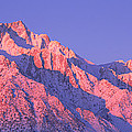 Sunrise At 14,494 Feet, Mount Whitney by Panoramic Images