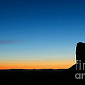 Sunrise At Monument Valley by Isabel Poulin