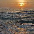 Sunrise At Portscatho by Pete Hemington