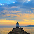Sunrise At Spring Point Lighthouse by Diane Diederich
