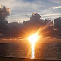 Sunrise In Cancun by Bill Cannon