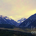 Sunrise On Aoraki Mount Cook In New Zealand by Catherine Sherman