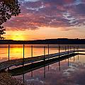 Sunrise On Keoka Lake by Darylann Leonard Photography