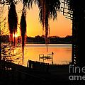 Sunrise On Lake Weir - 4 by Tom Doud