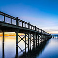 Sunrise Under The Boardwalk by Randy Scherkenbach
