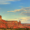 Sunset At Ghost Ranch by Alan Vance Ley