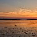 Sunset At Loch Bay by David Pringle