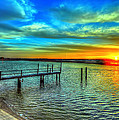 Sunset At The Cape by Tina Baxter