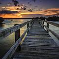 Sunset At Wildcat Cove by Fran Gallogly