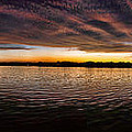 Sunset By The Lake by Jaime Aguirre