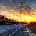 Sunset In Charlotte by Maurice Smith