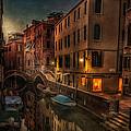 Sunset In Venice by Dobromir Dobrinov
