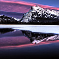 Sunset Mount Rundle by Mark Duffy