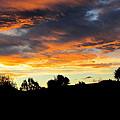 Sunset New Zealand  by Joyce Woodhouse