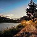 Sunset On The Lake by Milan Cernak