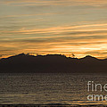 Sunset Over Arran by Liz Leyden