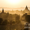 Sunset Over Bagan - Myanmar by Matteo Colombo
