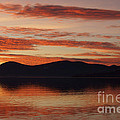 Sunset Over Lake Tahoe by Benjamin Reed