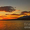 Sunset Over Mackay Reservoir by Robert Bales