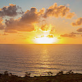 Sunset Over The Pacific Ocean, Torrey by Panoramic Images
