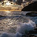 Sunset Waves by Rick Seymour