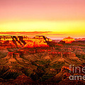 Sunset Yaki Point Grand Canyon by Bob and Nadine Johnston