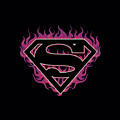 Superman - Fuchsia Flames by Brand A
