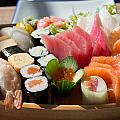 Sushi And Sashimi by Frank Gaertner